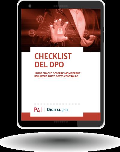 Checklist del DPO: Tutto ciò che occorre monitorare per avere ogni cosa sotto controllo